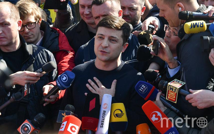 Актёр и кандидат на пост президента Украины Владимир Зеленский. Фото AFP
