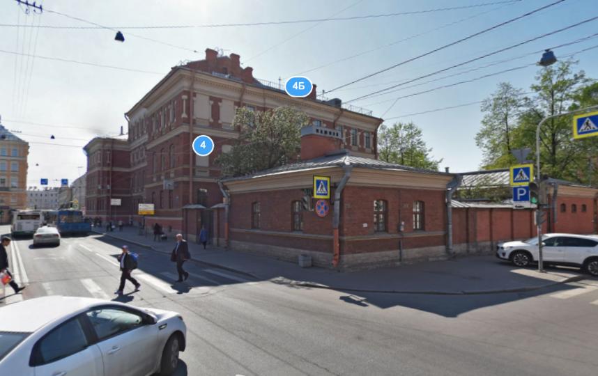 Детская городская больница. Фото скриншот Яндекс.Панорамы