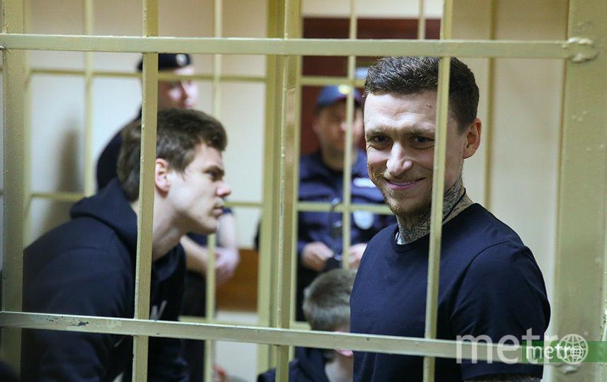 Павел Мамаев и Александр Кокорин. Фото Василий Кузьмичёнок