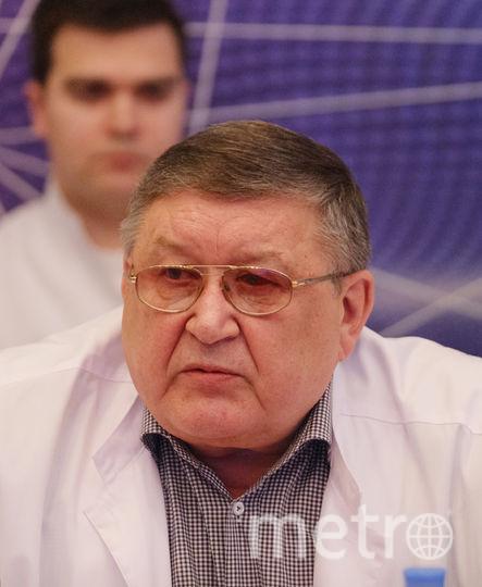 Валерий Парфенов, директор НИИ Скорой помощи им. Джанелидзе.