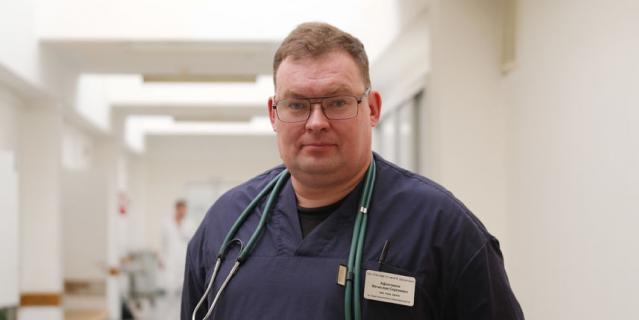 Вячеслав Афончиков, зам. главного врача по анестезиологии.