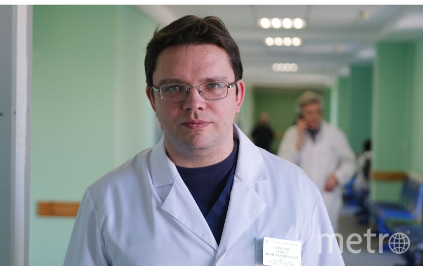 Павел Крылов, заведующий ожоговым отделением  №1.