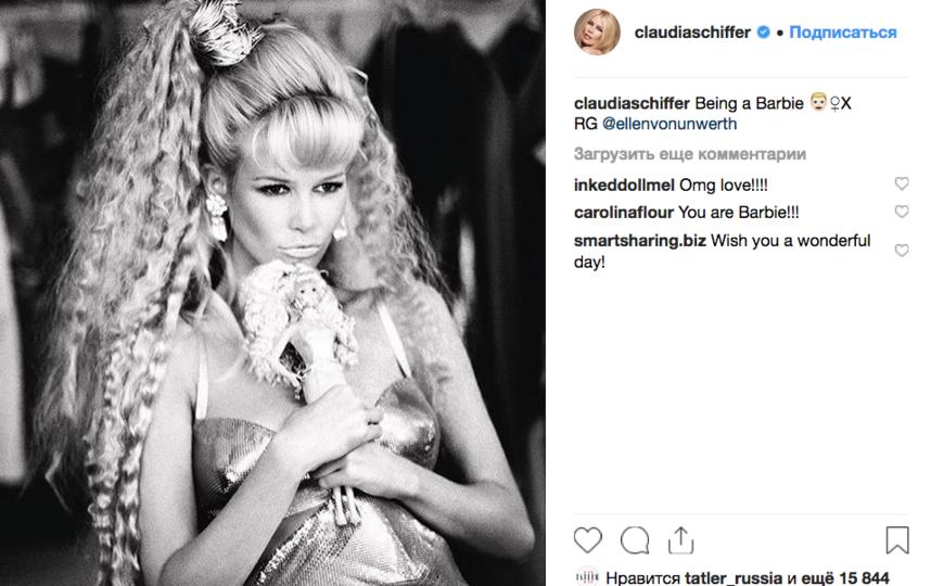 Клаудия Шиффер, фотоархив.