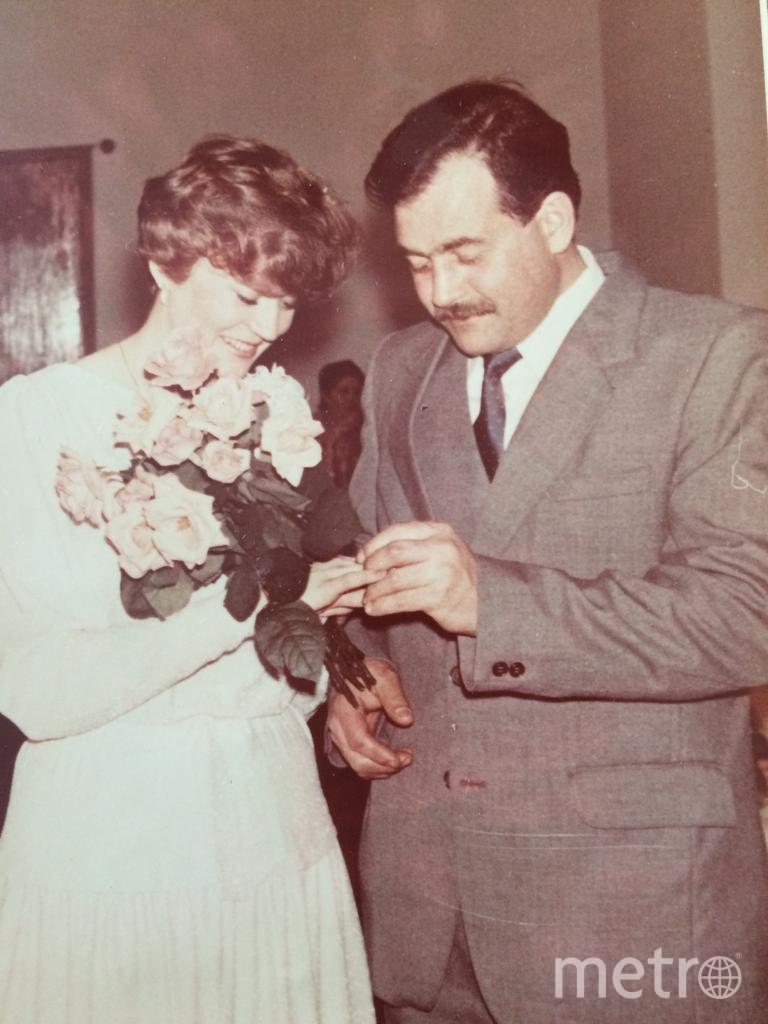"""Наша свадьба 1985 год. Мы любим собираться вместе всей семьей! И Хлеб «Столовый» всегда с нами на наших семейных праздниках! Фото Анна Логинова, """"Metro"""""""