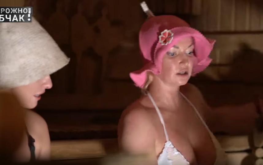 Кадры интервью Ксении Собчак и Анастасии Волочковой. Фото Скриншот Youtube