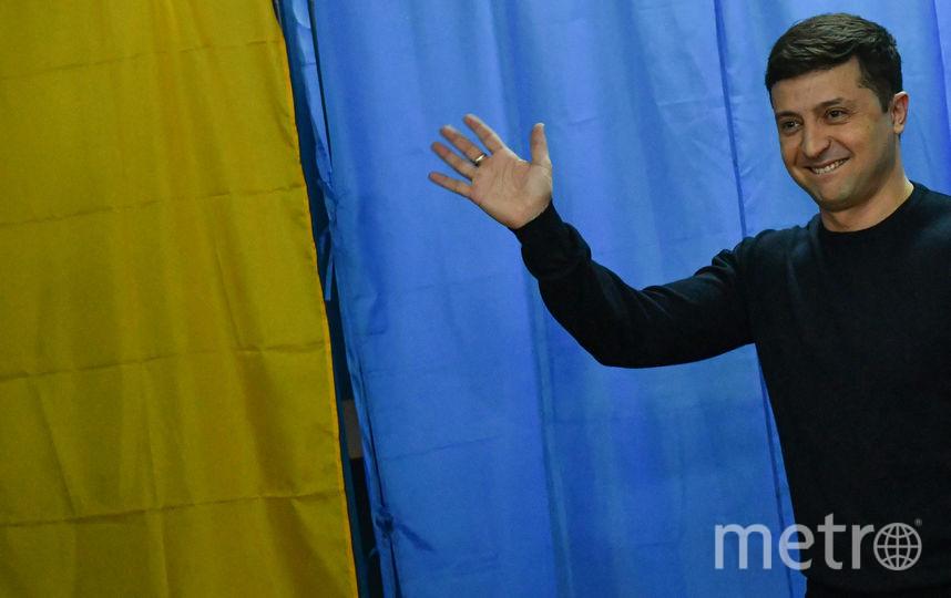 Комик и кандидат на пост президента Украины Владимир Зеленский. Фото AFP