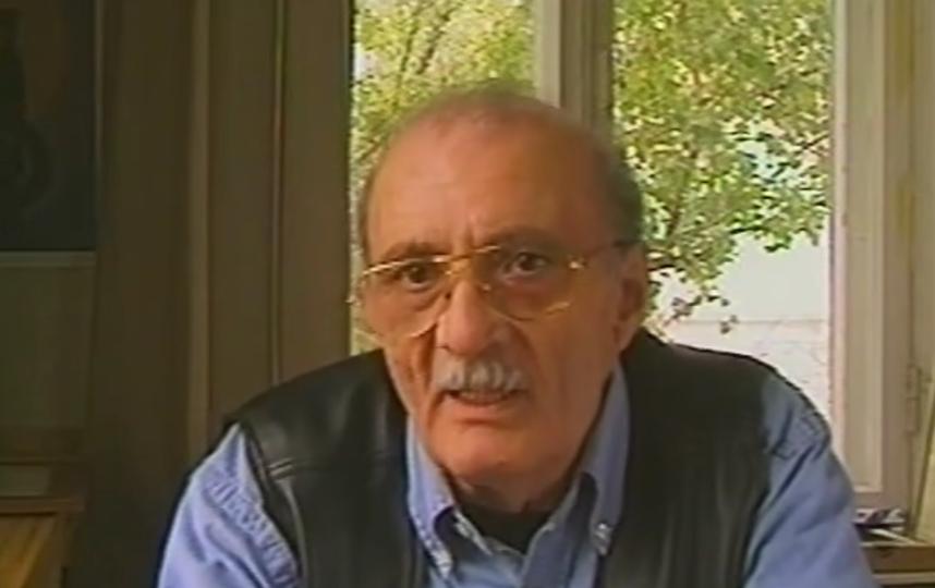 Георгий данелия, кадры из передач, архив. Фото Все - скриншот YouTube