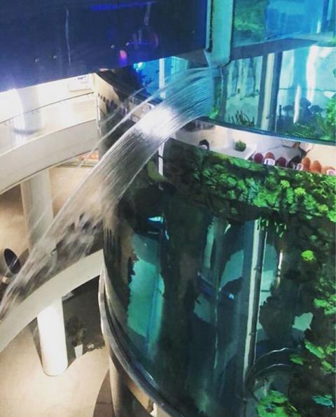 """ТЦ """"Океания"""" начал затапливаться. Фото Скриншот instagram.com/inblade/"""