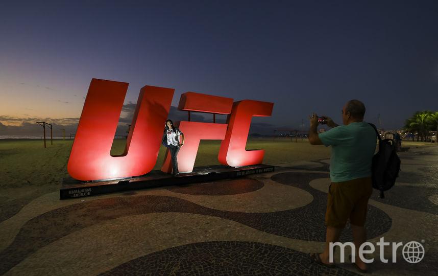 UFC — крупнейшая международная организация по смешанным единоборствам. Фото Getty