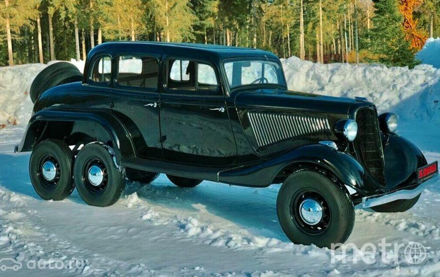 ГАЗ - 25 - автоомбиль повышенной проходимости, который специалисты автозавода торопились предоставить штабным работникам. Фото скриншот www.auto.ru
