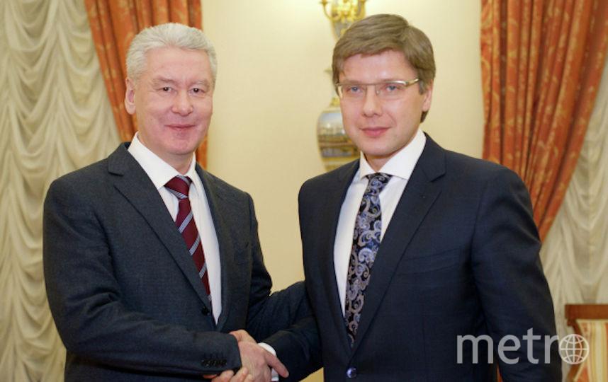Сергей Собянин и Нил Ушаков. Фото РИА Новости