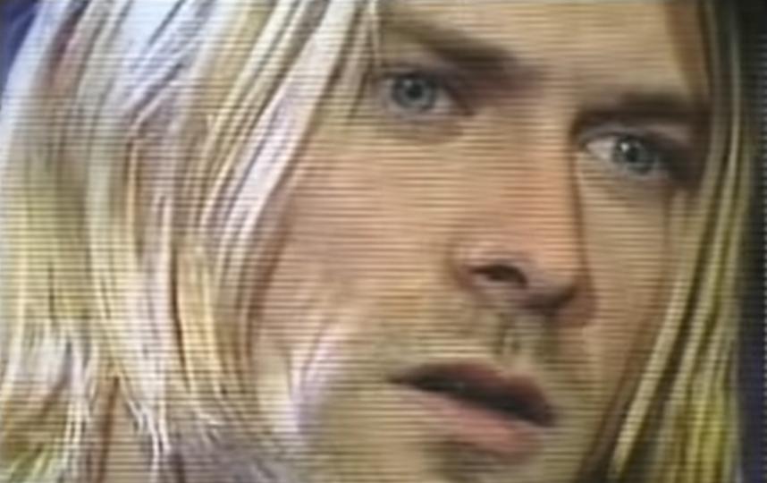 Курт Кобейн. Фото Скриншот Youtube