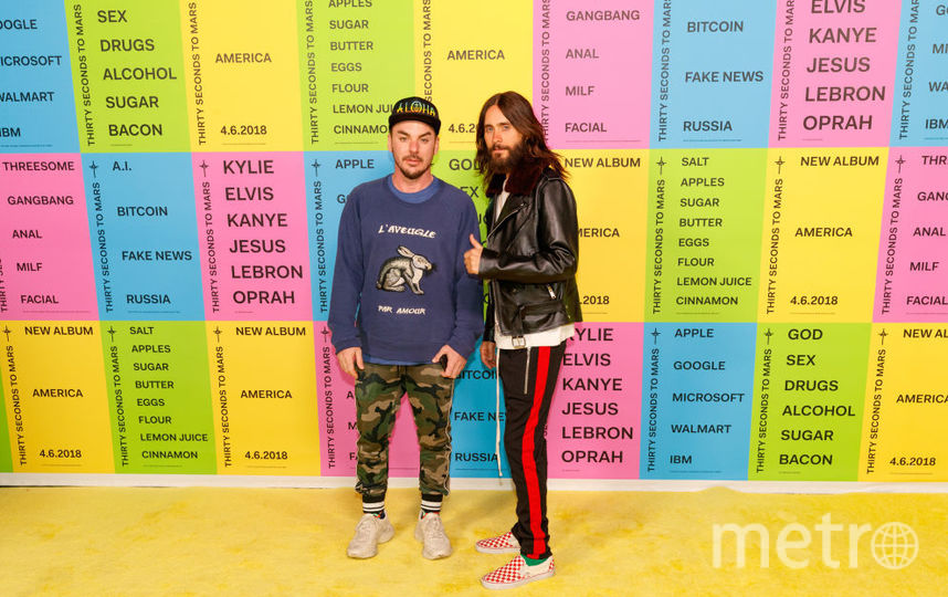 Джаред и Шеннон Лето. Фото Getty