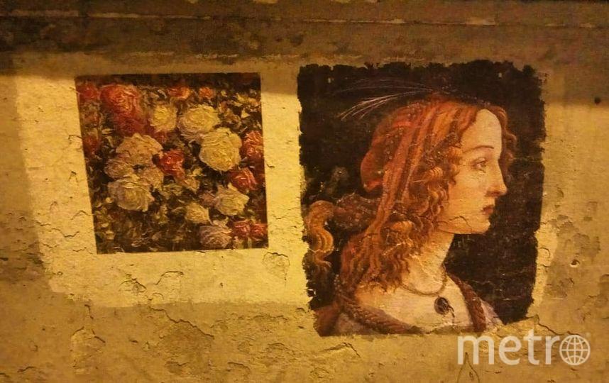 В Петербурге коммунальщики закрасили копии известных картин. Фото Скриншот Instagram: @dariaesenina