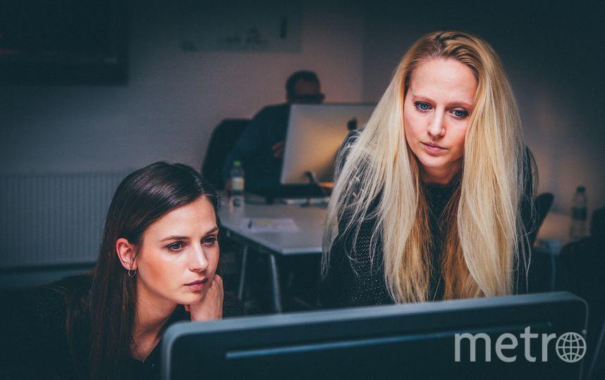 Женщины в офисе. Фото Pixabay