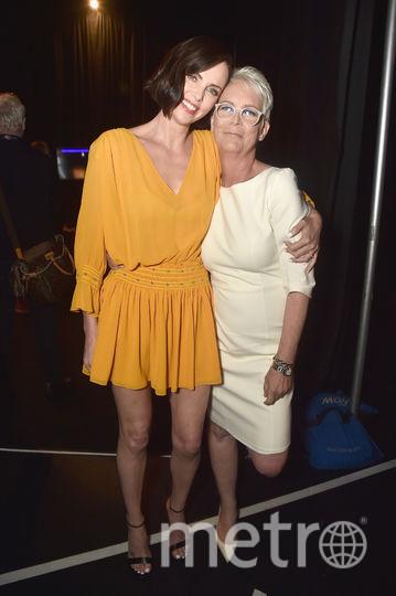 Шарлиз Терон и Джейми Ли Кертис на CinemaiCon-2019. Фото Getty