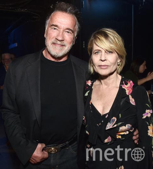 Арнольд Шварценеггер и Линда Хэмилтон. Фото Getty
