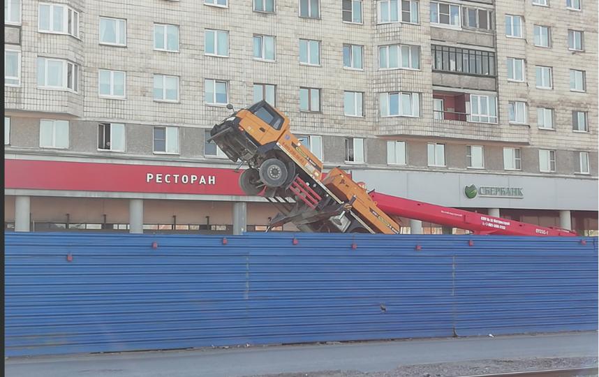 ДТП и ЧП | Санкт-Петербург | vk.com/spb_today. Фото Виталий Топтыгин, vk.com
