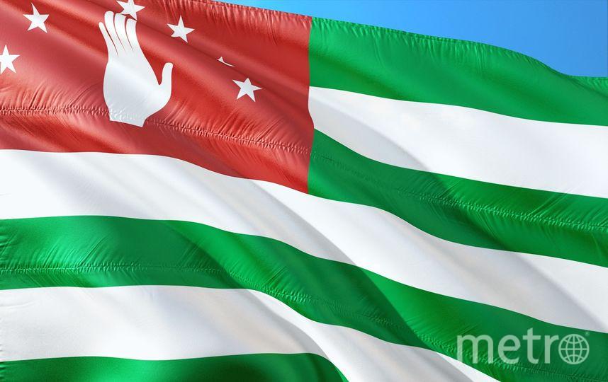 Флаг респубики Абхазия. Фото https://pixabay.com/