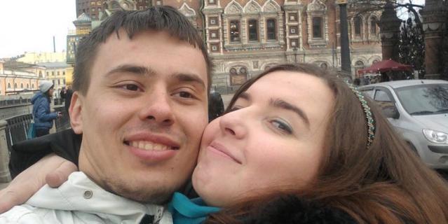 Юлия Лебежина и Игорь Смирнов.