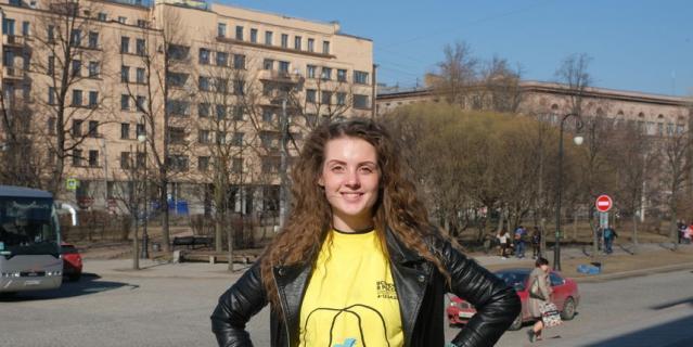 Валерия Соколова, студентка приднестровского театра имени Надежды Аронецкой.