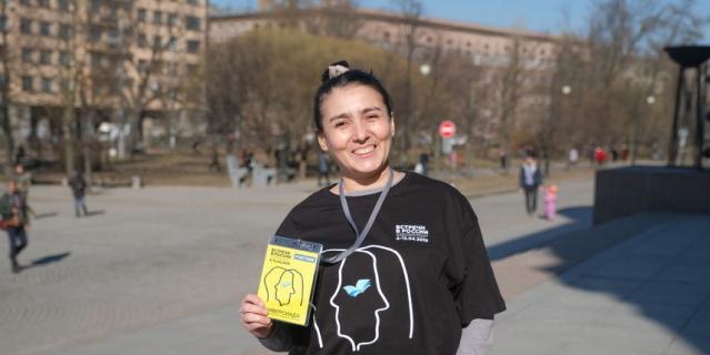 Лейла Сиит-Оглы, актриса Молодёжного театра Узбекистана.
