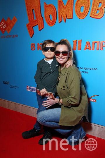 Мария Кожевникова с сыном. Фото Предоставлено организаторами мероприятия.