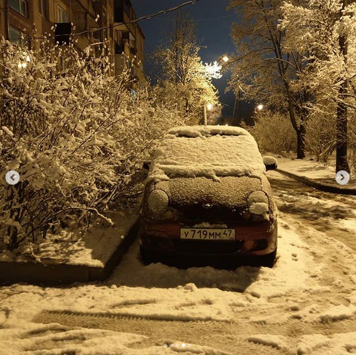 Выборг завалило снегом: Instagram пополнился холодными фото. Фото Скриншот Instagram: @svetlanaizotkina