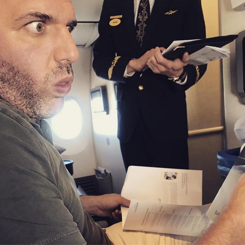 Максим Виторган. Фото Скриншот Instagram: @xenia_sobchak