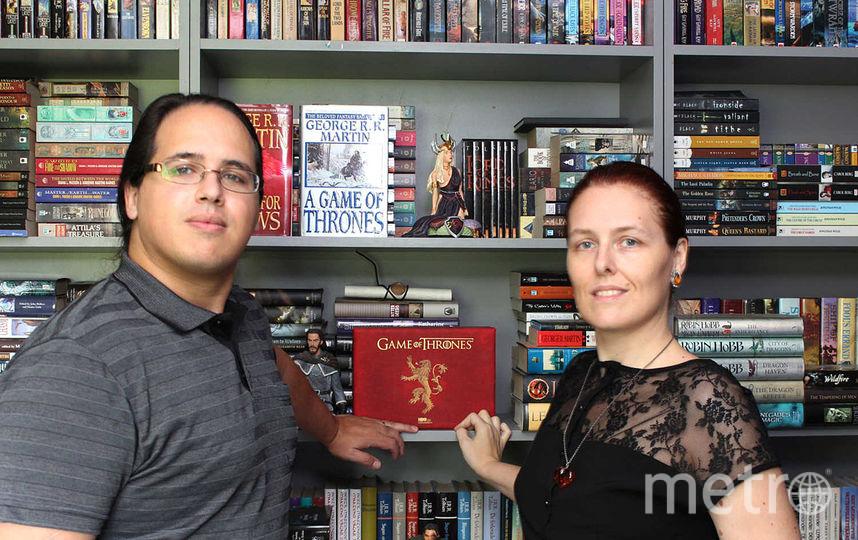 Элио М. Гарсия и Линда Антонссон. Фото Фото предосталено