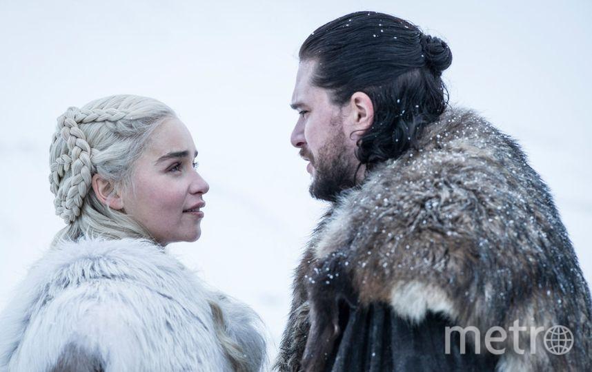 Эмилия Кларк (Дейенерис Таргариен) и Кит Харингтон (Джон Сноу). Фото HBO