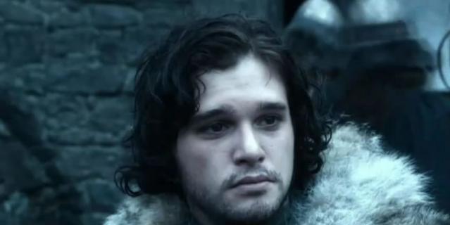 Джон Сноу, кадр из сериала.