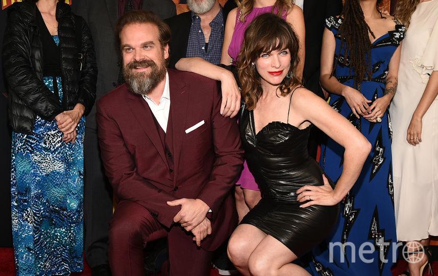 Милла Йовович и Дэвид Харбор. Фото Getty