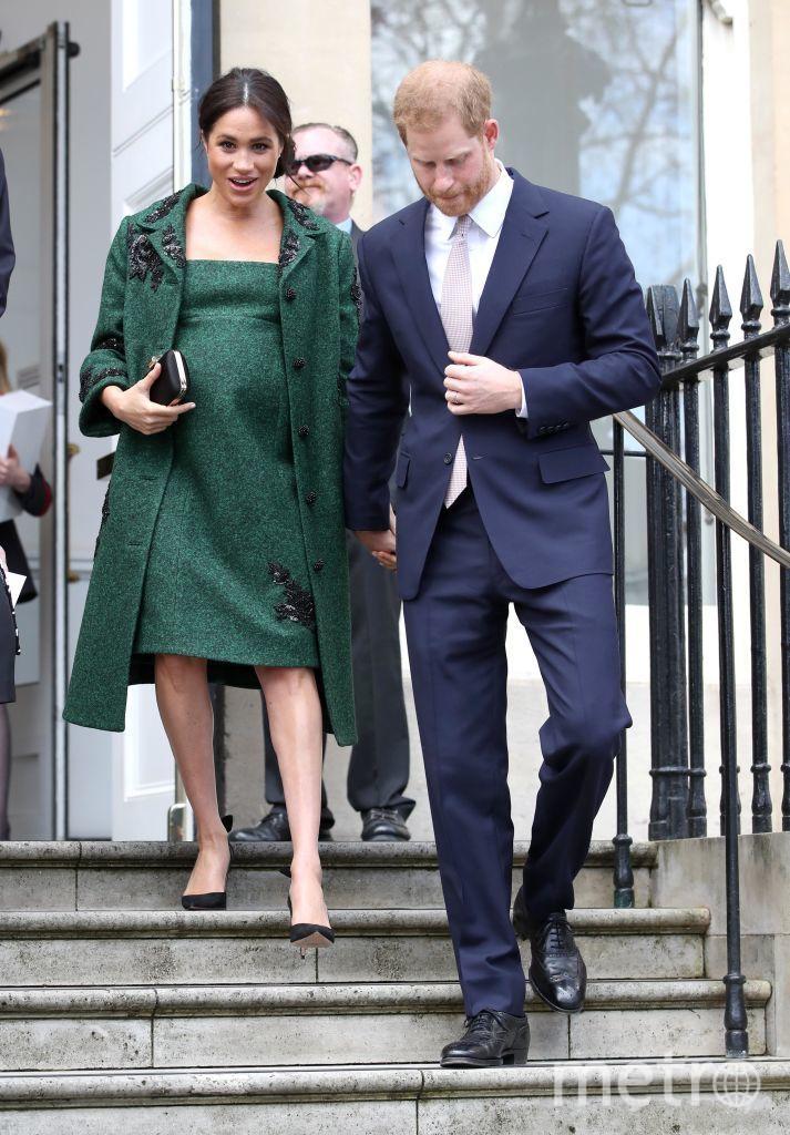 Меган Маркл на последних сроках беременности. Март 2019 года. Фото Getty