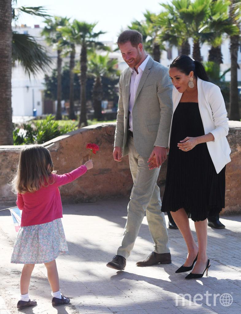 Меган Маркл на последних сроках беременности. Фото Getty