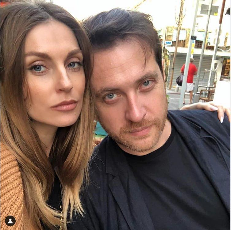 Александра с супругом Кириллом Сафоновым. Фото instagram.com/kirill_safonov
