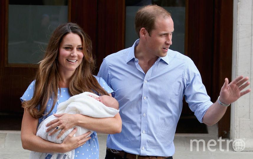 С принцем Джорджем. Фото Getty