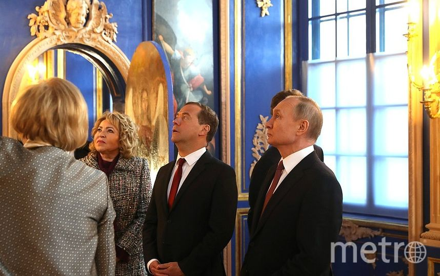 В Царском Селе. Фото kremlin.ru