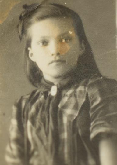 Янушевская Инна, школьное фото. Фото из семейного архива