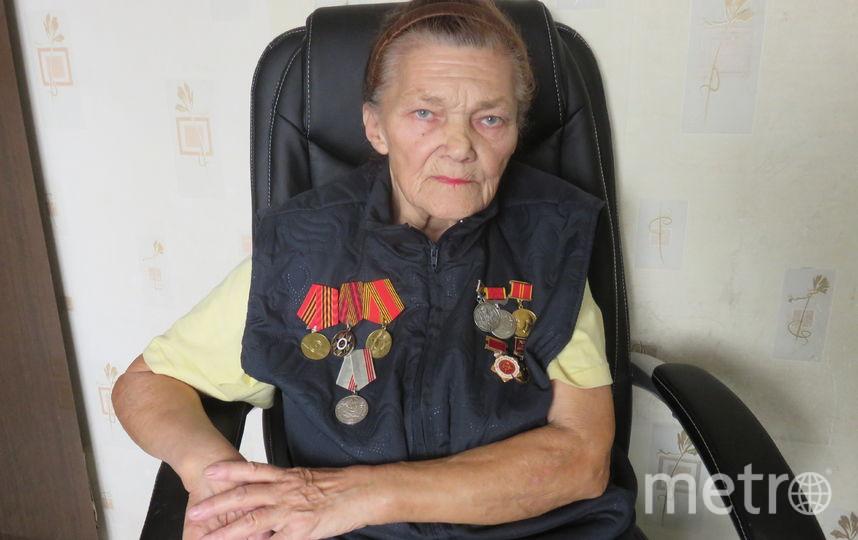 Тюрина Инна Семёновна, бывшая узница концлагеря. Фото из семейного архива