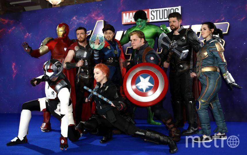 """Премьера фильма """"Мстители: Финал"""" в Лондоне. Фото Getty"""