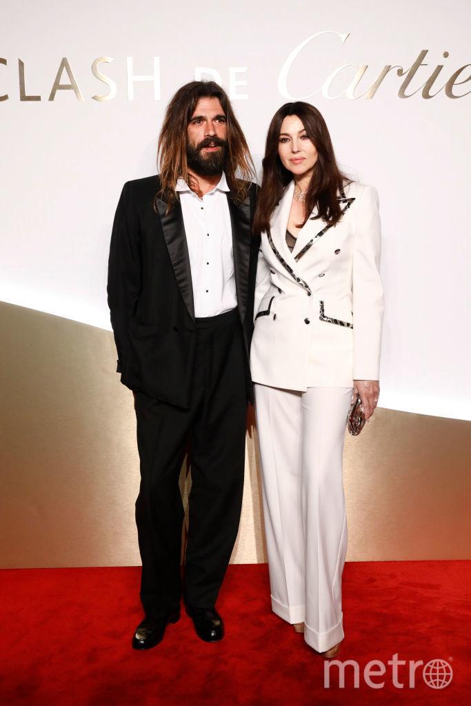 Николя Лефевр и Моника Беллуччи. Фото Getty