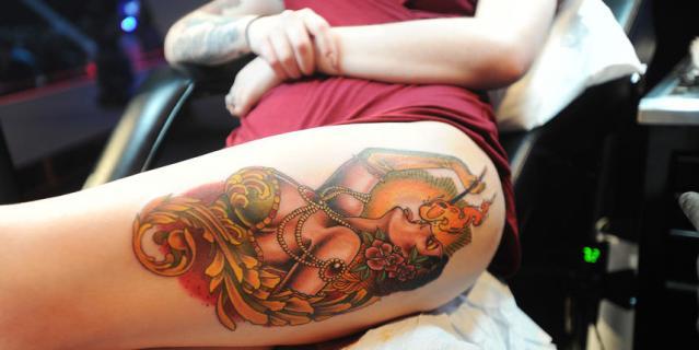 17-й Московский фестиваль татуировки.
