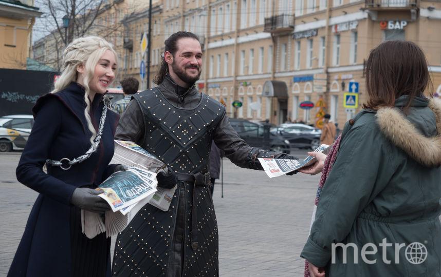 """Петербургские косплееры рассказали, есть ли жизнь после """"Игры престолов"""". Фото """"Metro"""""""