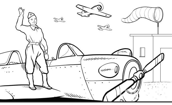 """Он призван был в армию и выбрал путь лётчика. Учился летать в оренбургских степях. А после направлен на север, под Мурманск, Пилотом служить в заполярных снегах. Фото """"Metro"""""""