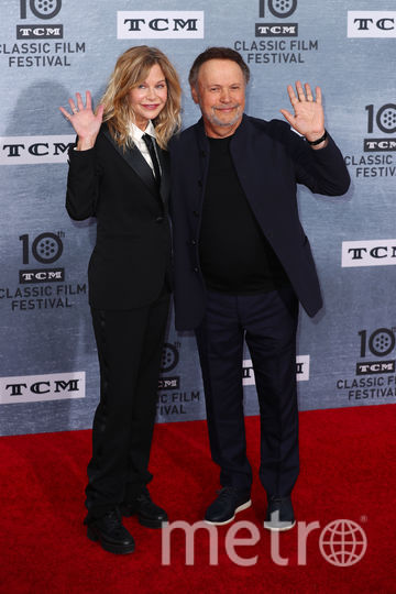 """Празднование 30-летие фильма """"Когда Гарри встретил Салли"""". Мег Райан и Билли Кристал. Фото Getty"""