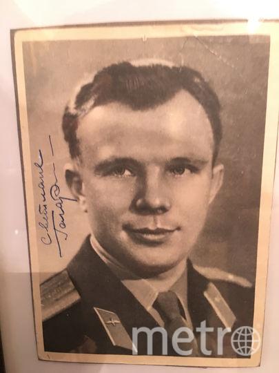 """Юрий Гагарин подарил нашей читательнице свою фотографию с надписью: """"Светлане"""". Фото предоставлено героями материала, """"Metro"""""""
