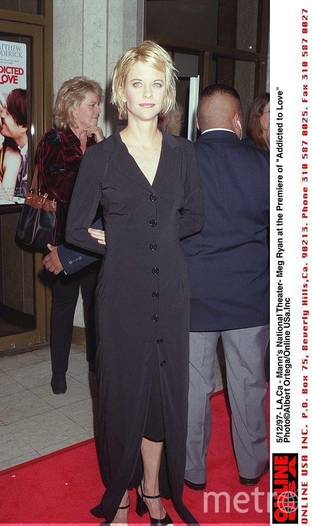 Мег Райан в 90-е годы. Фото Getty