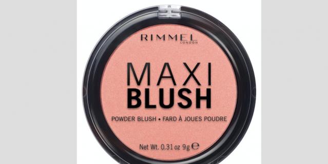 Румяна Rimmel Maxi Blush.