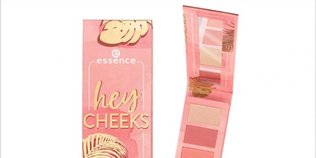 Палетка для макияжа Essence Hey Cheeks Blush.